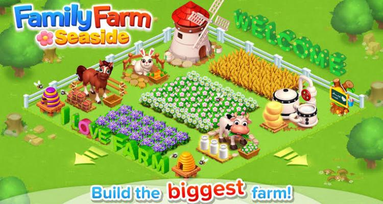 Game Family Farm Seaside