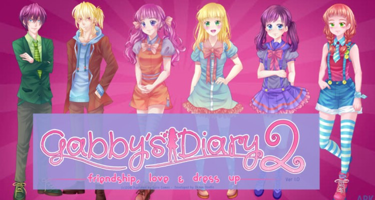 Gabby's Diary 2 Love & Dress Up